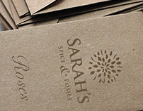 Sarah's Spice and Posies Corporate Identity