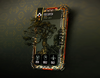 FOR HONOR : Hero presentation's card
