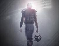 """Relentless: Mississippi State Football"" Promo Poster"