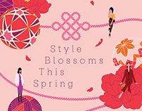 LUMINE SINGAPORE: Style Blossoms This Spring