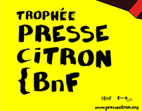 Trophée Presse Citron Bnf 2019