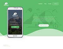 Landing Page for Muncak