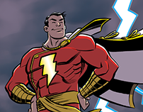 Captain Marvel/Shazam fanart