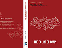 Batman Court of Owls Book Cover Redesign