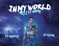 Hip Hop Mixtape/Album CD Cover FREE PSD Template
