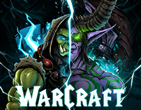 Warcraft. Illidan Stormrage x Thrall (Индивид)