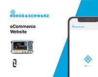 eCommerce Website for Rohde & Schwarz