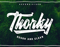 Thorky Rough & Clean font