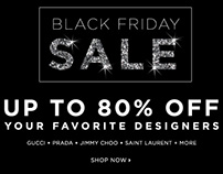 Black Friday sale for Bluefly 2014