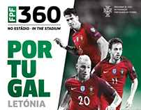 FPF . Portugal-Latvia . Official Match Programme