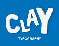 CLAY TYPOGRAPHY