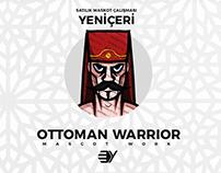 Ottoman Warrior Mascot Work - Yeniçeri Maskot Çalışması