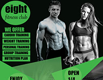 Fitness Club - Flyer