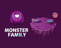 Monster family concpetual design revised edition