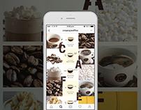 Estrategia Digital BEBIDAS Crepes & Waffles (instagram)