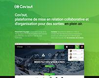 Cov'out, Plateforme de mise en relation collaborative.