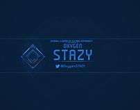 Oxygen Stazy | Rebrand