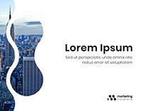 Marketing Curators PPT Slides design