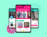 Arremate - App Interface e Identidade Visual