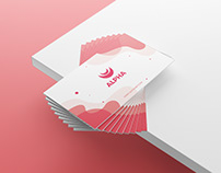 Abstract business card design vol.1