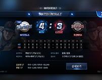 Game UI Design _ Sports