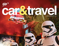 Car & Travel masthead redesign