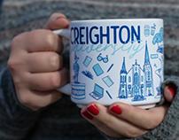 """Creighton """"Been There"""" Mug"""