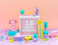 15 años CCEMx