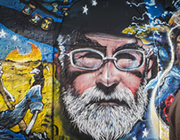 Terry Pratchett Tribute Mural