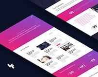 Vectorform Website Design