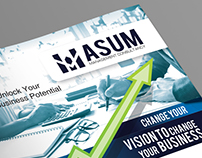 Asum Logo and Brochure Design