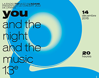 You & the Night & the Music 2015