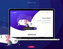Driving School Education Web Design