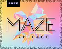 MAZE Typeface | Free Font