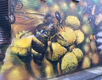 Street Art from Blackburn Open Walls Festival 2017.