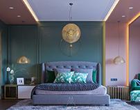 Neo Classic Master Bedroom