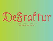 DeFraktur Typeface
