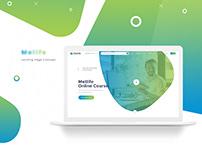 Online Course Landing Page Design