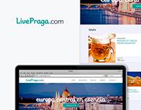 LivePraga Website *(2015)