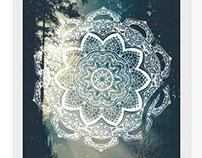 Mandalas tribal ornament