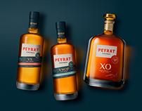 Maison PEYRAT, Cognacs Range VS, VSOP, XO