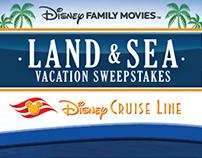 Disney's Land & Sea Sweeps Responsive Designs