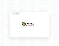 Kenex Markets Brand Identity development.