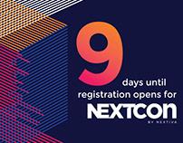 NextCon By Nextiva Social Media Countdown Graphics