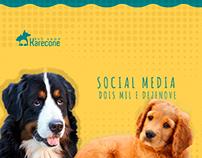 Social Media - Redes Sociais - Karecone Pet Shop - 2019