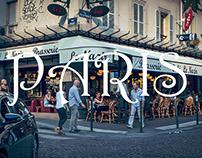 Marchant autour de Paris