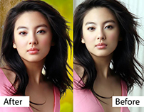 Hair masking with Background Removal