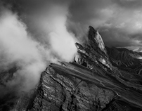 Seceda. The Dolomites. Inspired by William Turner.