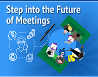 "Logitech ""Future of Meetings"" Infographic"