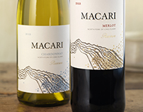 Macari Wine Label & Packaging